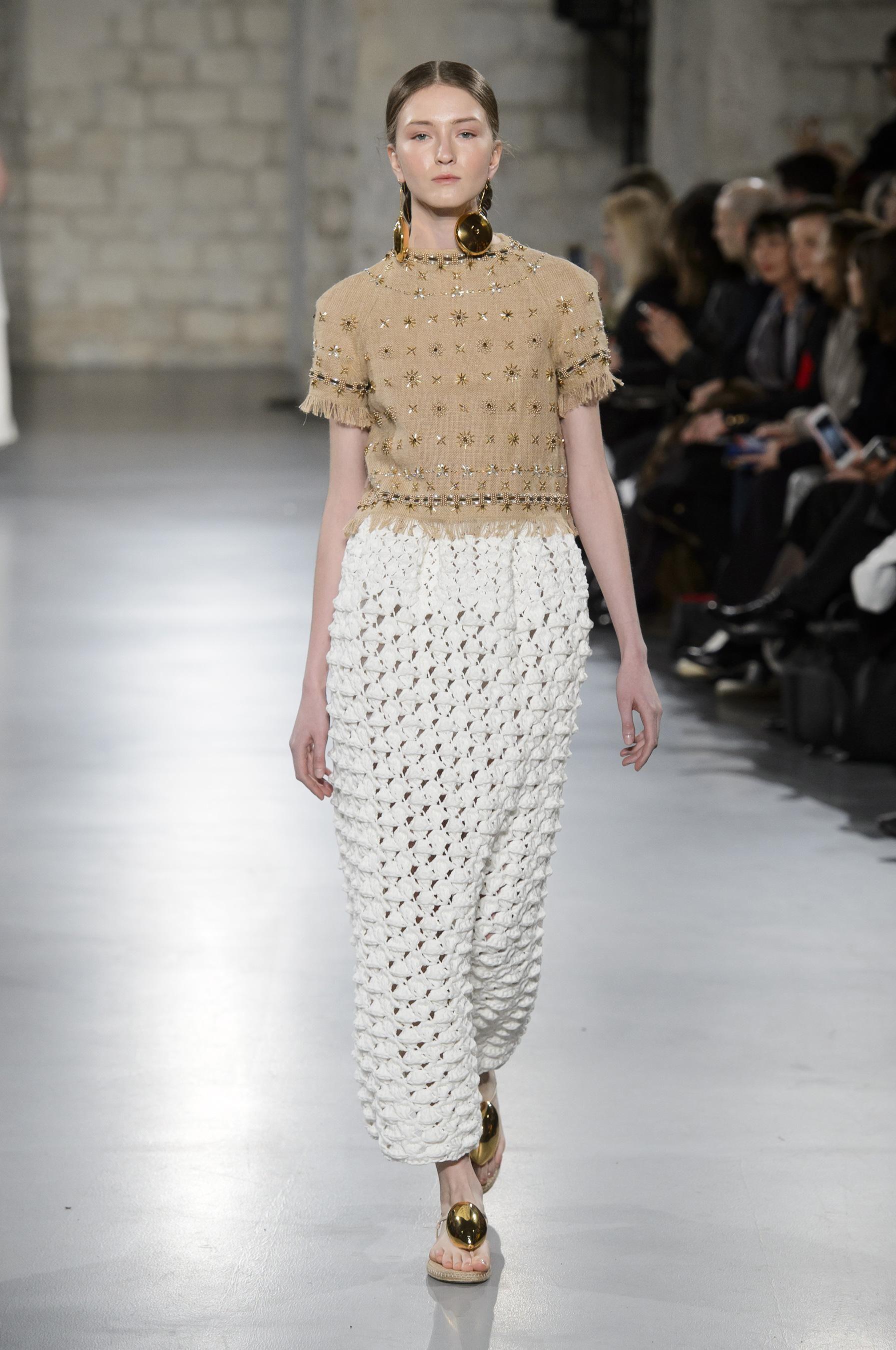 38a756c36dd Défilé Christophe Josse printemps-été 2018 Couture - Madame Figaro