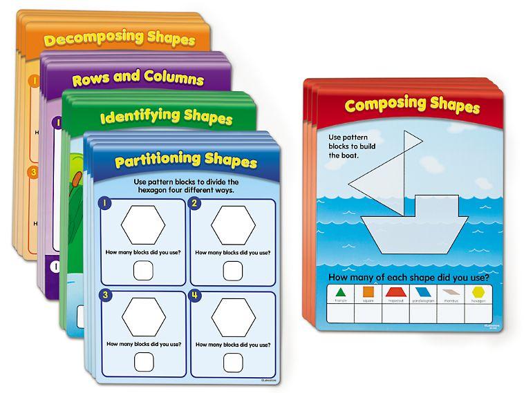 Pattern Blocks Activity Cards Pattern Blocks Pattern Activities