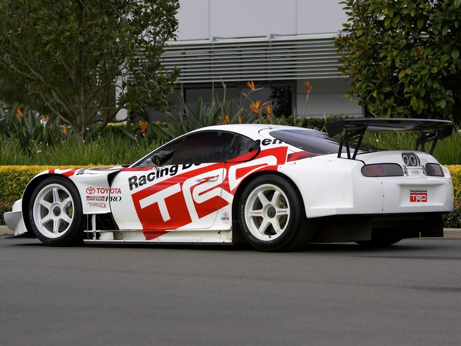 Trd Toyota Supra Gt500 Race Car Via 7tune 7tune Auto