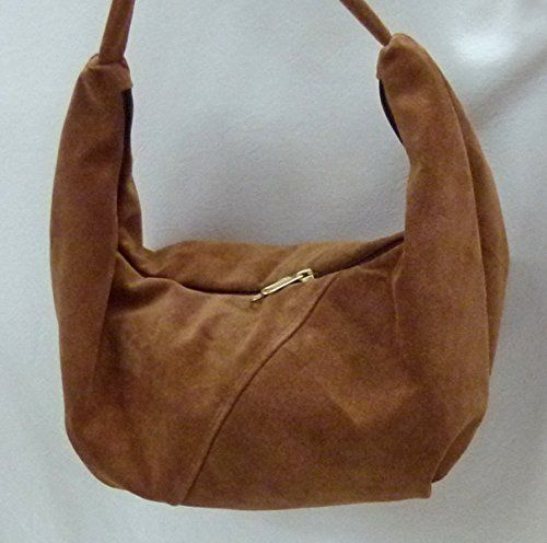 302d82deabf8 Hide Suede Small Hobo Sling Shoulder Bag from Grizzly Creek by ...