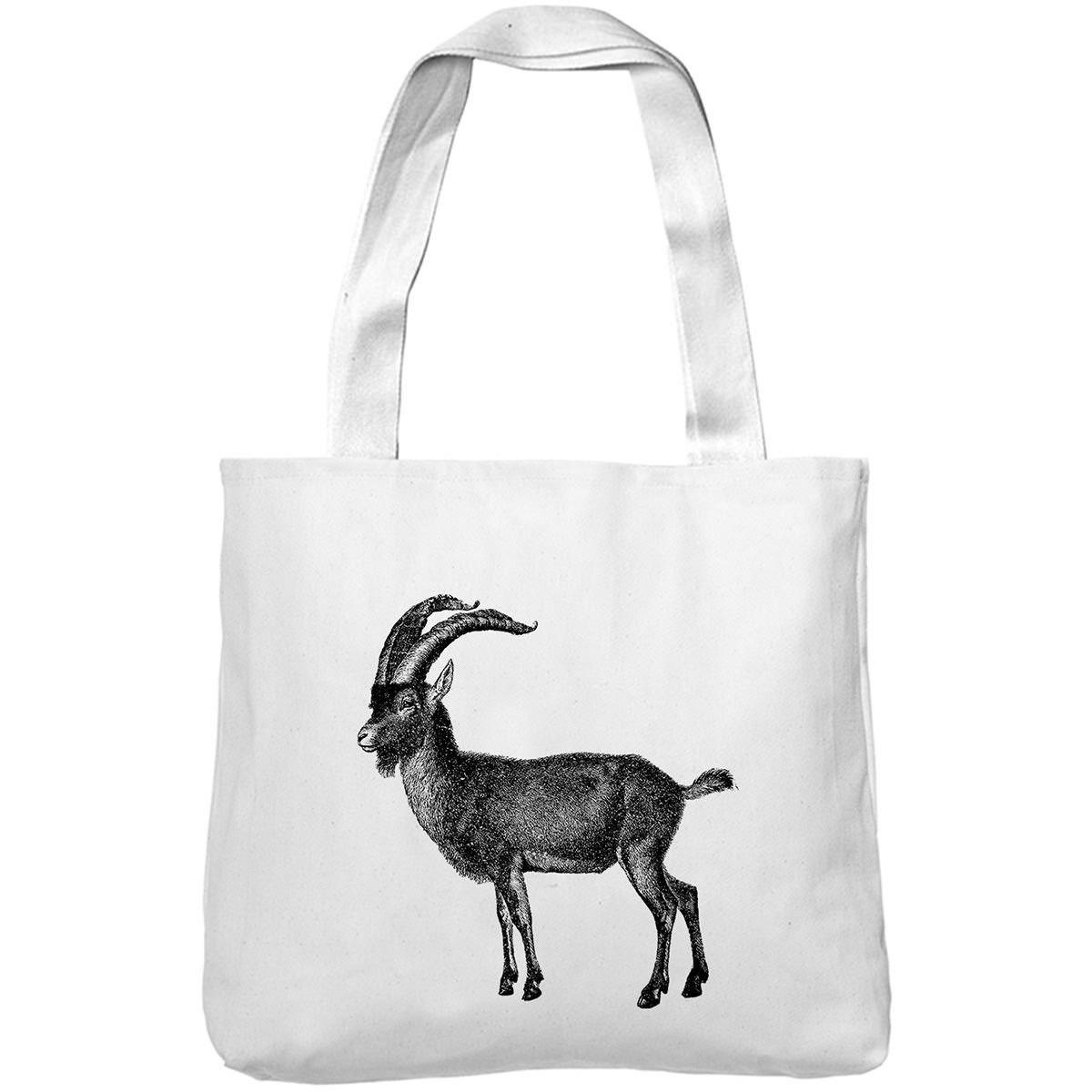 Mintage Big Horned Antelope Museum Tote Bag