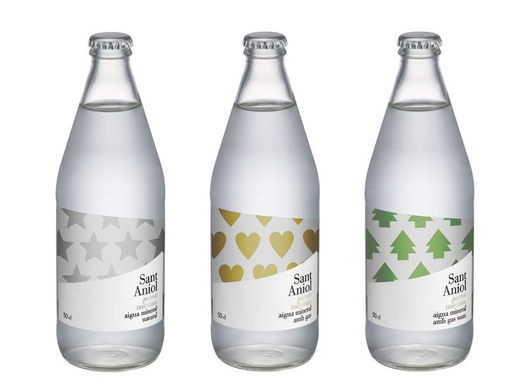 Sant Aniol Fun Water Bottle Packaging Pd Packaging Water