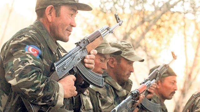 Türk Ordusunda Kırgızlı Askerler - Ulupamir Köyü