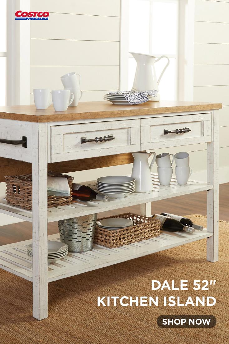 Dale 52 Kitchen Island Oak Kitchen Functional Kitchen