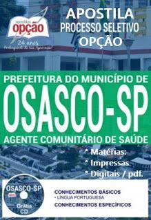 Apostila Processo Seletivo Da Prefeitura De Osasco Agente