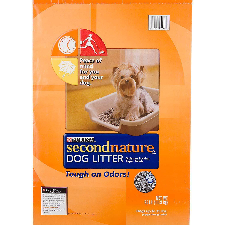 Purina Secondnature Dog Litter 25 Lbs Litter Box Cat Litter