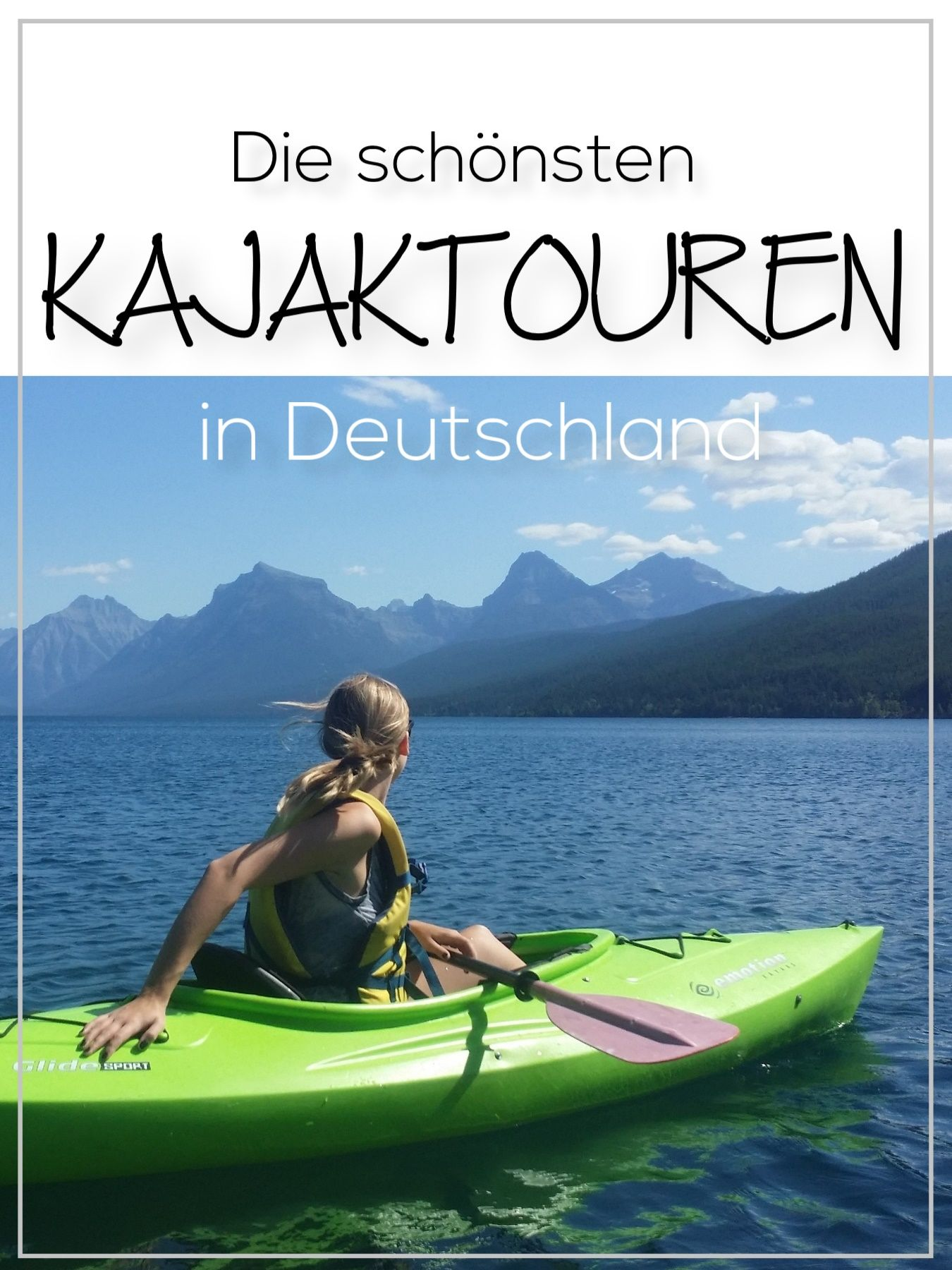 Photo of The most beautiful kayak tours in Germany