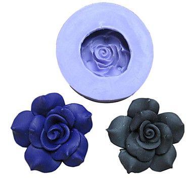 Flores+um+molde+Buraco+Peony+Silicone+Fondant+Moldes+Sugar+Craft+Ferramentas+Resina+Mould+moldes+para+bolos+–+USD+$+2.99