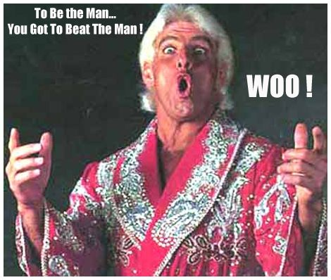 Image result for ric flair to be the man