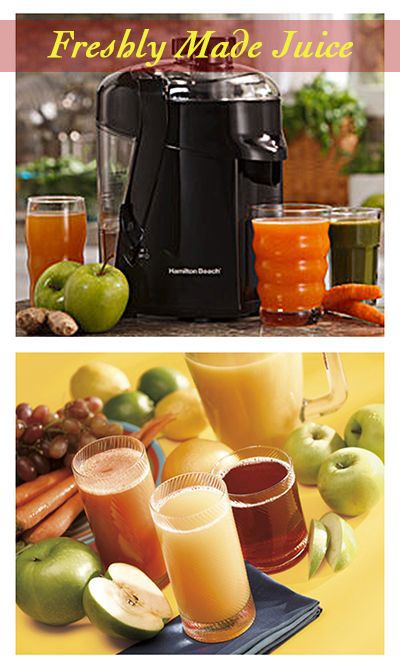 Juice your way into a healthier you!