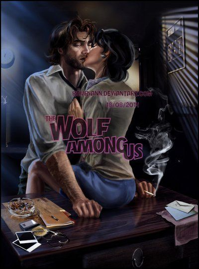 Bigby And Snow White I M Not Your S To Lose By Bembiann On Deviantart The Wolf Among Us Wolf Fables Comic