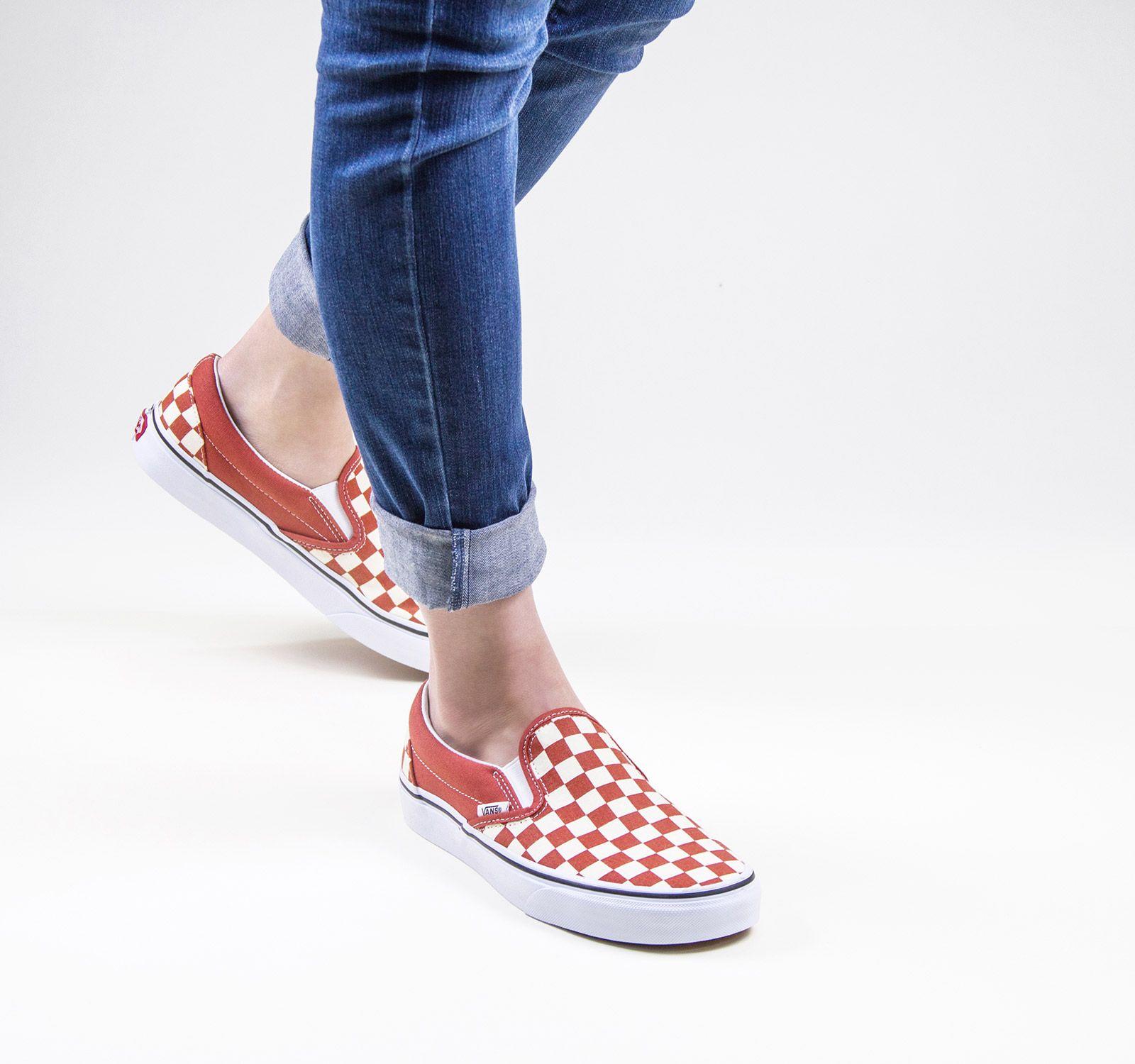 Vans Classic Slip-On Sneaker in Hot Sauce | Vans classic slip on ...