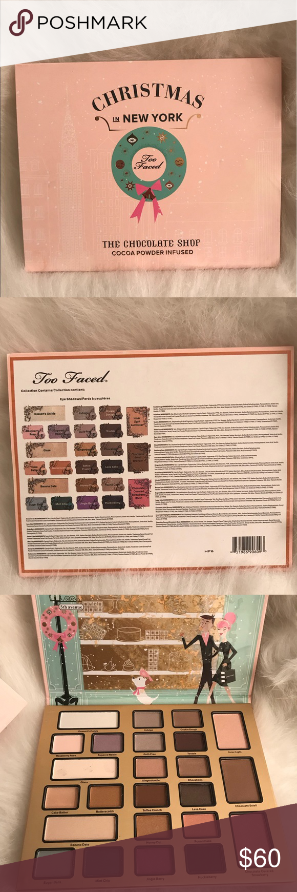 Too Faced Christmas In New York Palette