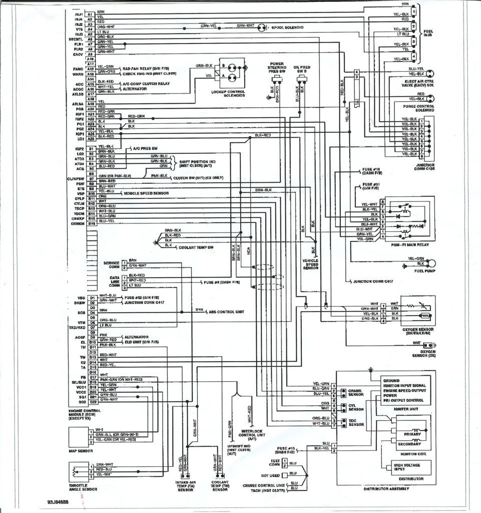 1996 Vw Golf Wiring Schematic