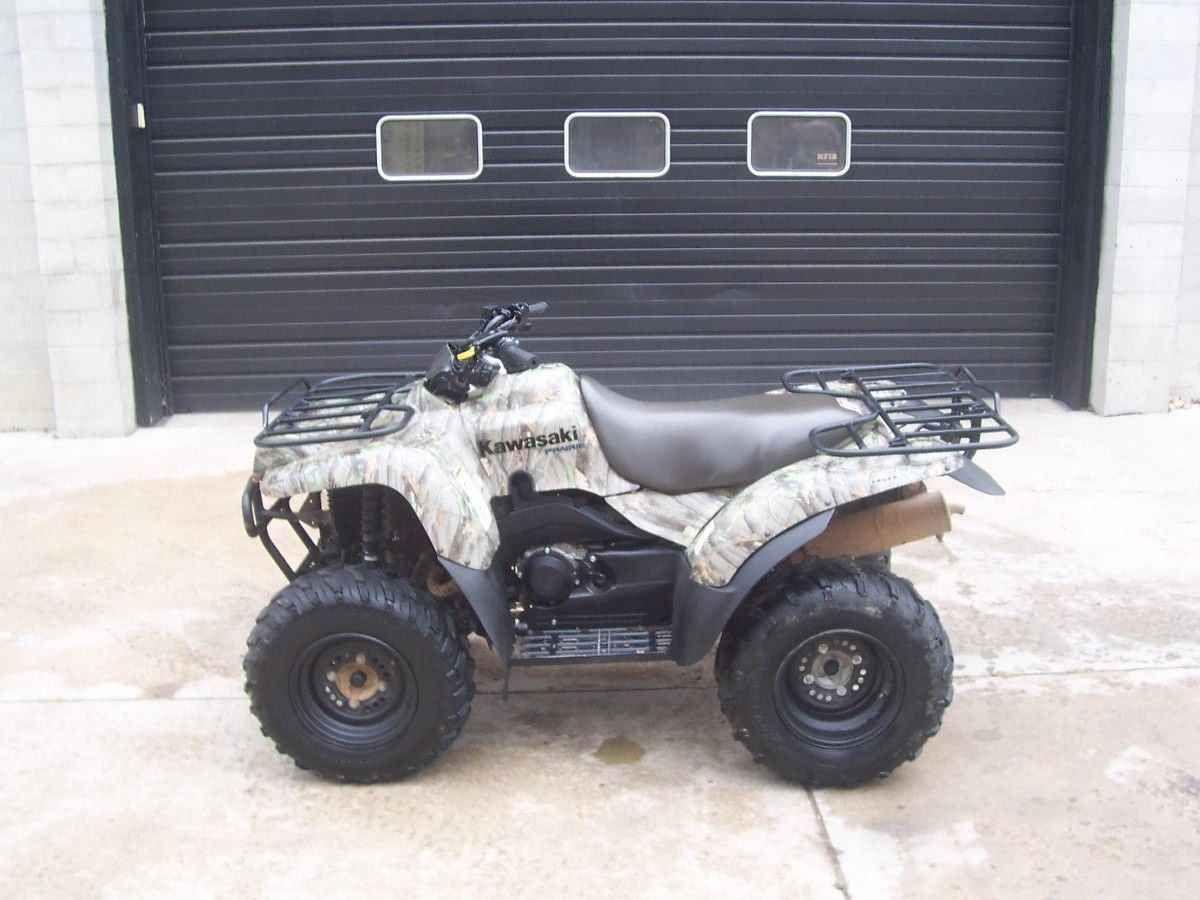 Used 2006 Kawasaki PRAIRIE 360 ATVs For Sale in Maryland.