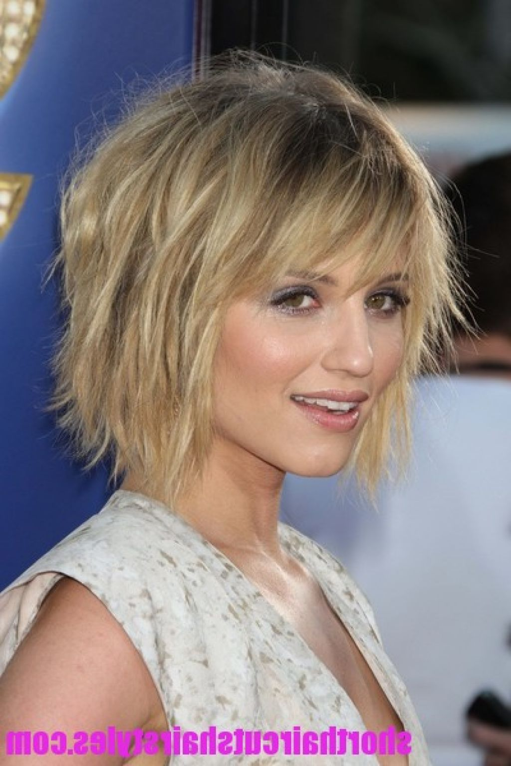 Short Choppy Layered Hairstyles For Fine Hair Frisuren Dünnes