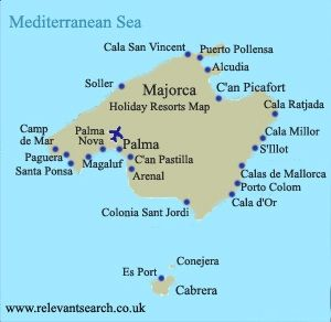 Palma Majorca Map image Favorite Places Spaces Pinterest