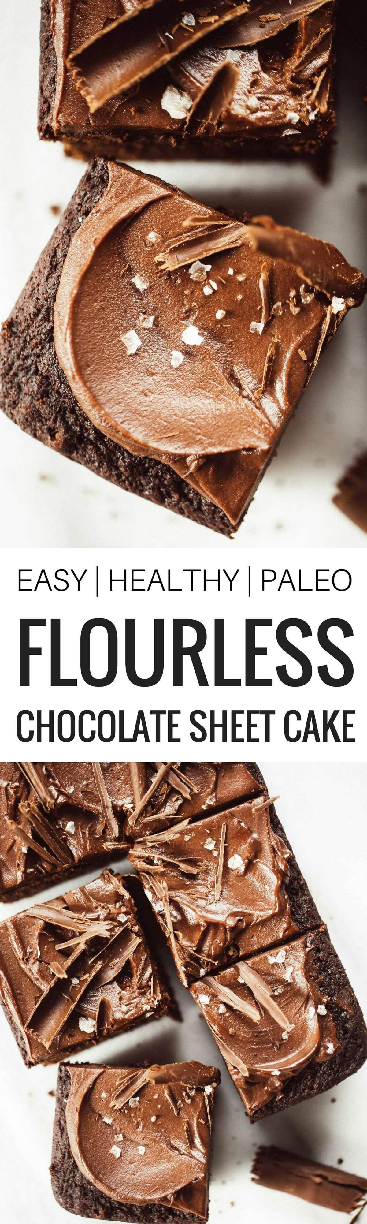Paleo Coconut Flour Chocolate Sheet Cake Recipe Paleo