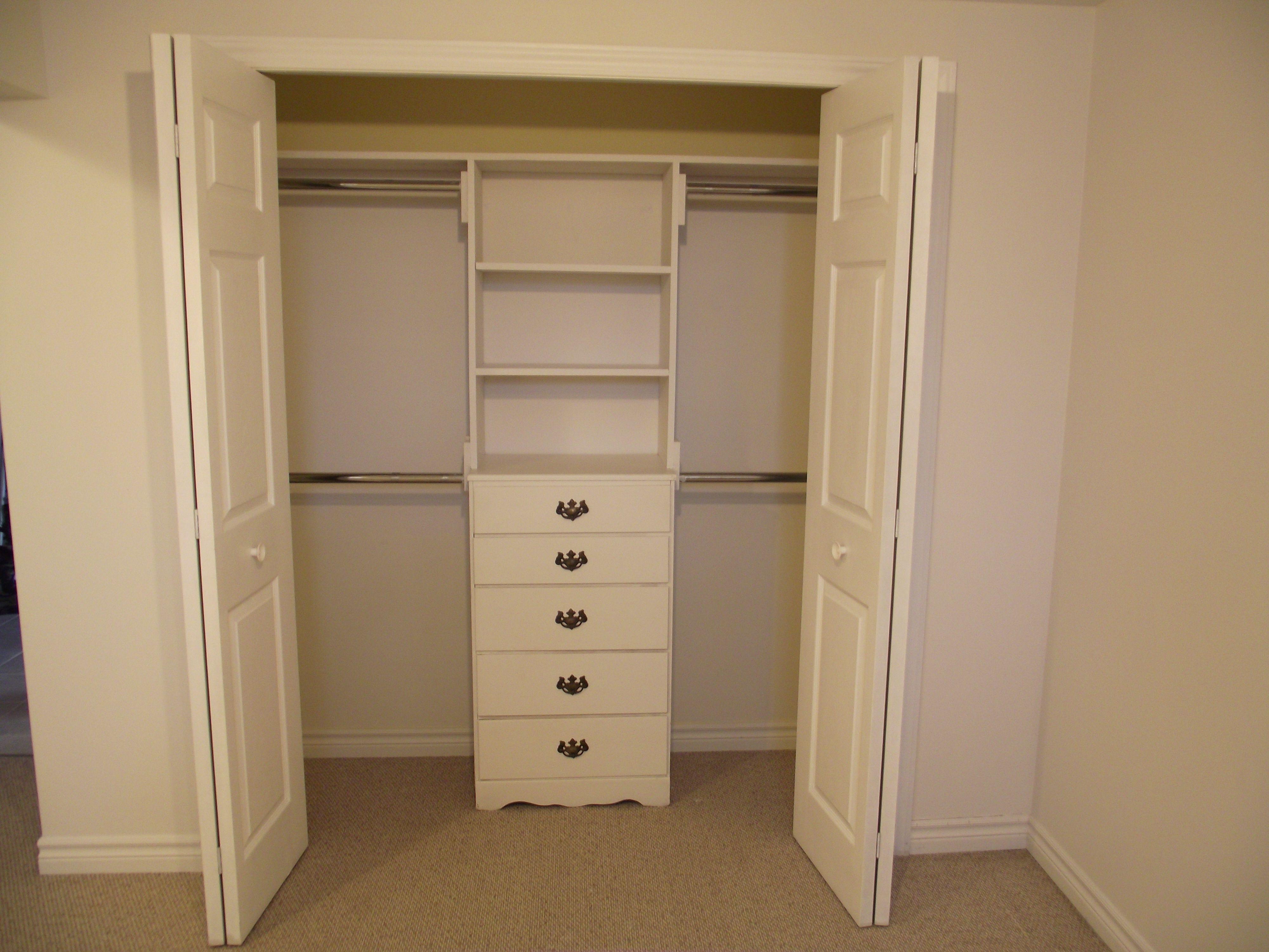 Custom Closet On A Budget Built In This $20 Bureau