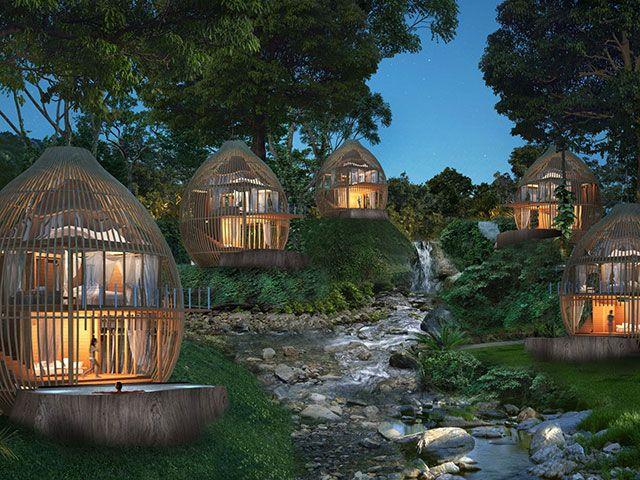 Tree Pool Houses, Keemala, Phuket, Thailand