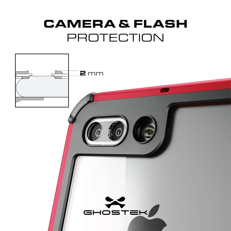 iPhone 7+ Plus Waterproof Case, Ghostek® Atomic 3.0 Black