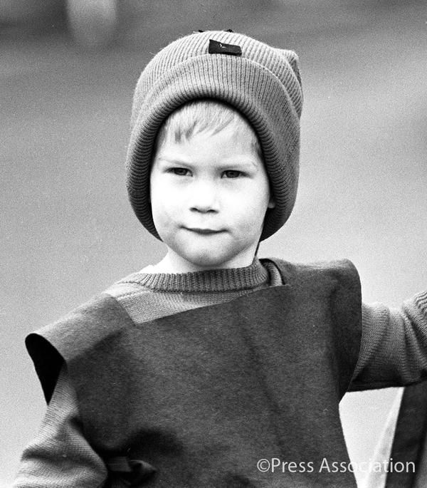 December 09 1987 Prince Harry Arrived At His Private Nursery School In Pixie