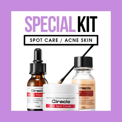 [SOL-KIT] Red Spot Care Kit (Spot Care / Acne Skin)