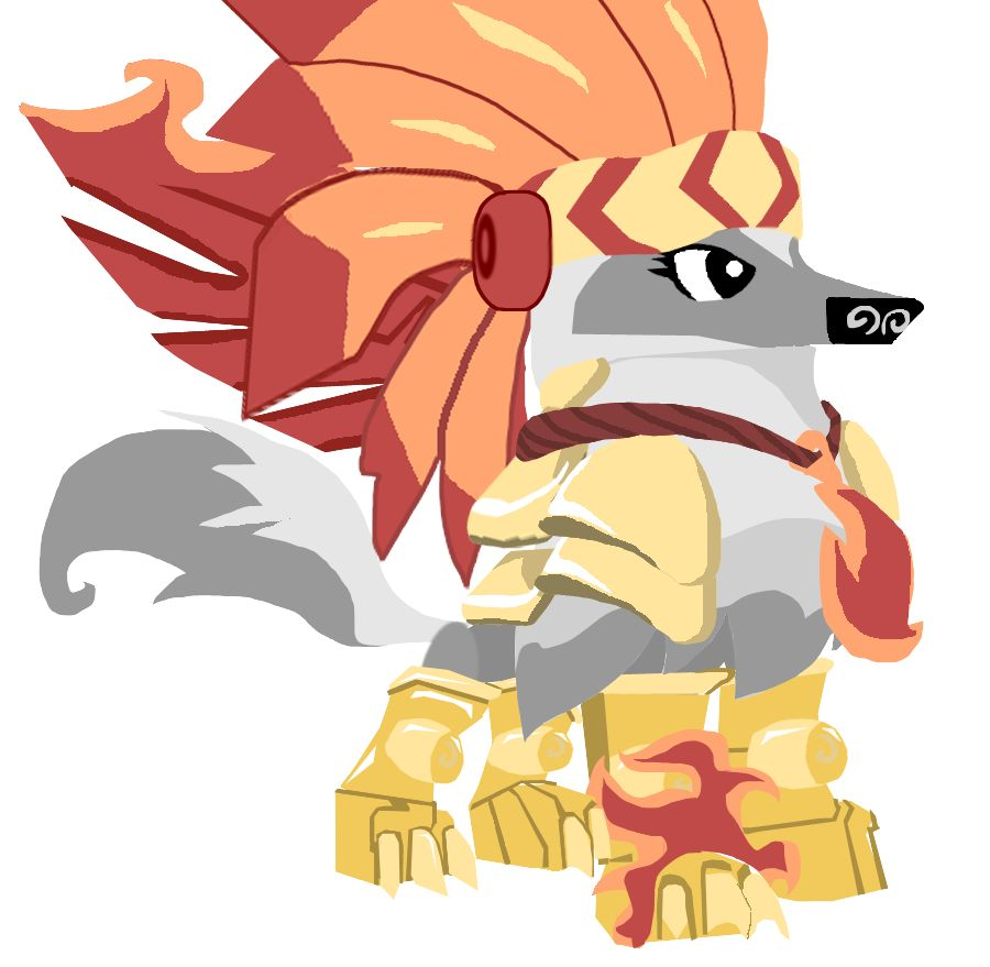 My Animal Jam (when I Was A Member) Arctic Wolf Outfit I Really