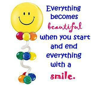 Start And End Your Day With A Smile Smile Be Happy Smile