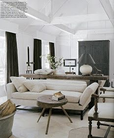 Ceiling pattern and proportions interior design by darryl carter aesthetically thinking it    black white situation also rh gr pinterest