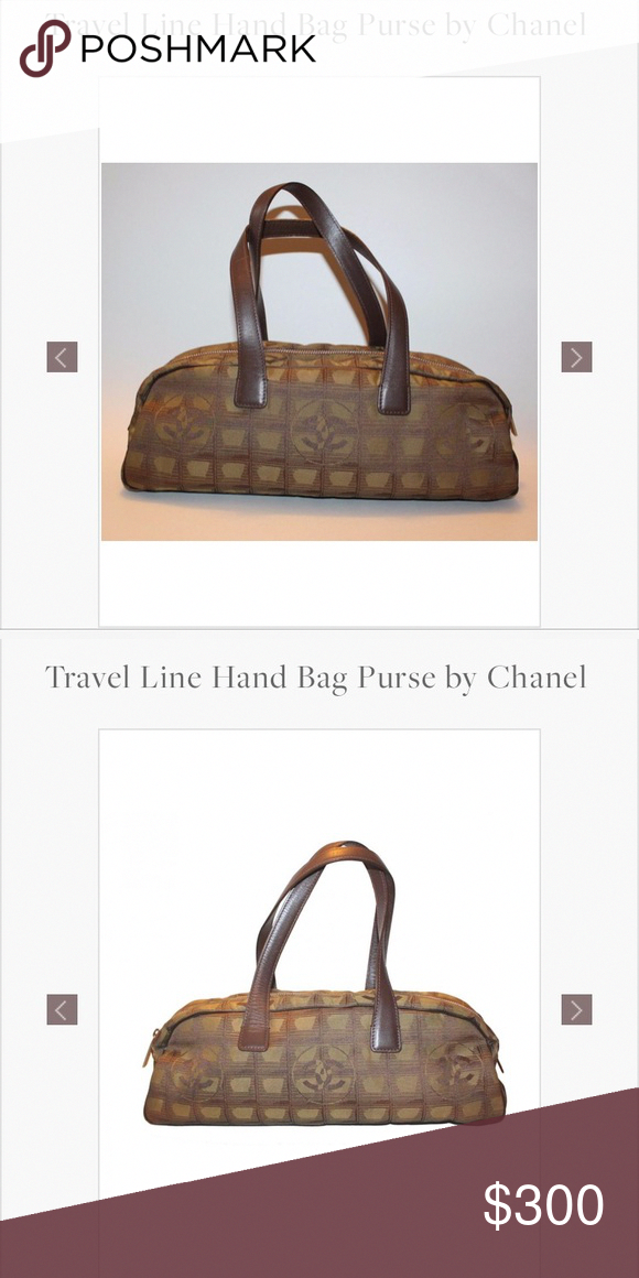 67c854d5e384 Spotted while shopping on Poshmark  CHANEL travel handline purse!  poshmark   fashion
