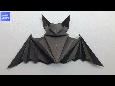 Photo of How to make an Origami Halloween Bat