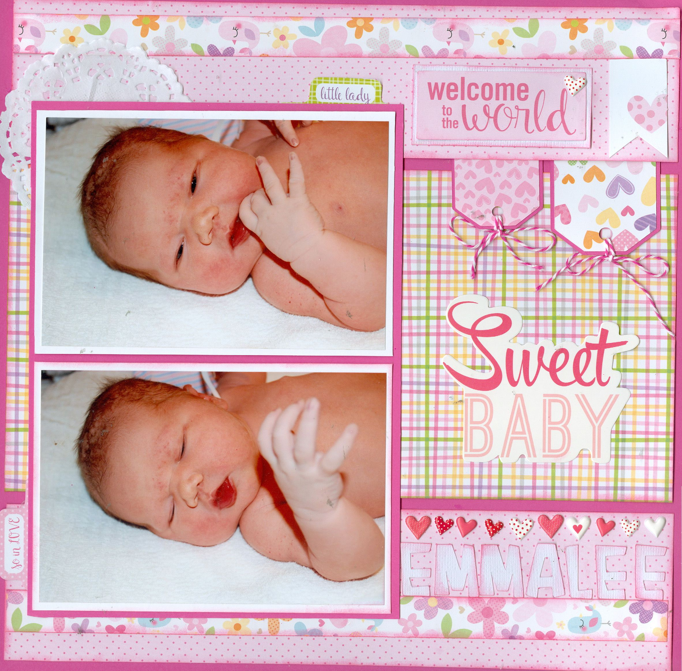 Sweet Baby Girl Bella Blvd Sweet Baby Girl Collection