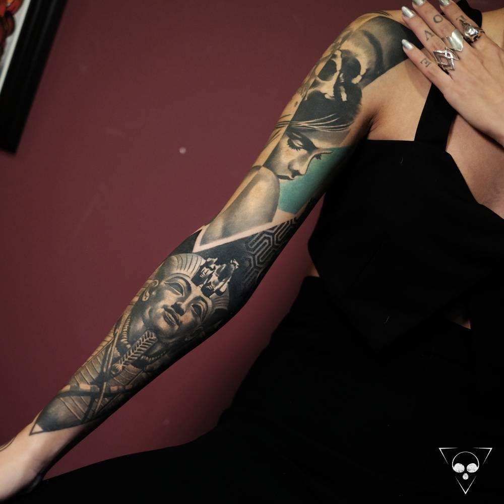 100 sleeve tattoos healed part of a sleeve i finished last