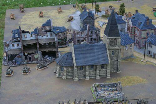 Normandy Village Village Normandie 1944 En 15mm Decors En 15 Ou 20mm Pour Wargame Normandie Village Decoration