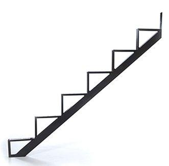 Best 6 Stair One Piece Stair Riser Black Box 2 Stairs 400 x 300