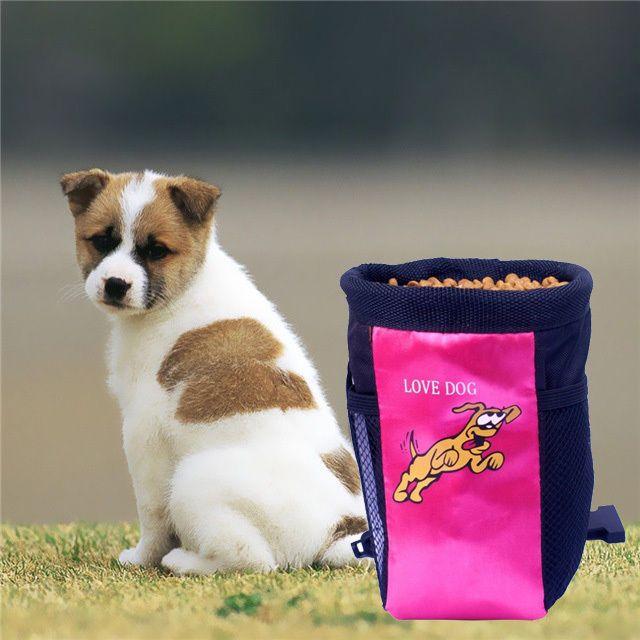 Portable Dog pet Food Award Training Treat Bag Feed  Pocket Pouch Holder Bag  #Generic