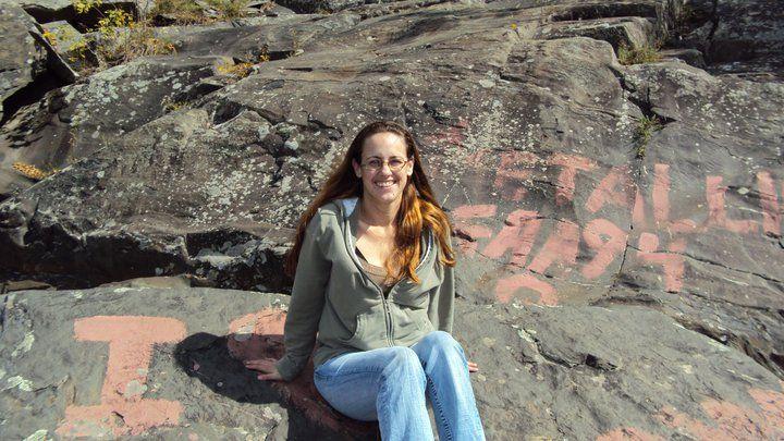 Stacy At Fairfax Falls, May 11, 2011