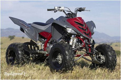 quad yamaha cross raptor 700