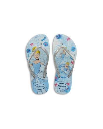 havaianas Girls' Disney Cinderella Flip Flops - Toddler, Little Kid