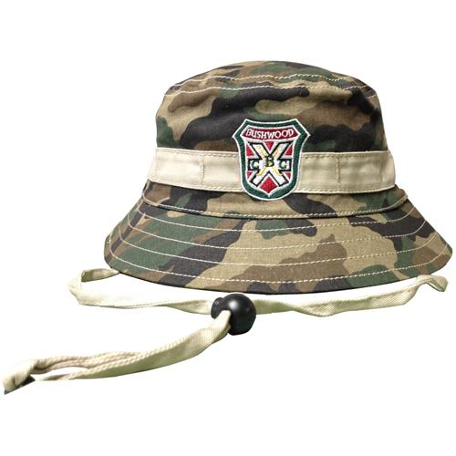 Caddyshack Carl Spackler Camo Bucket Hat with Bushwood Logo  051d6db8e6c