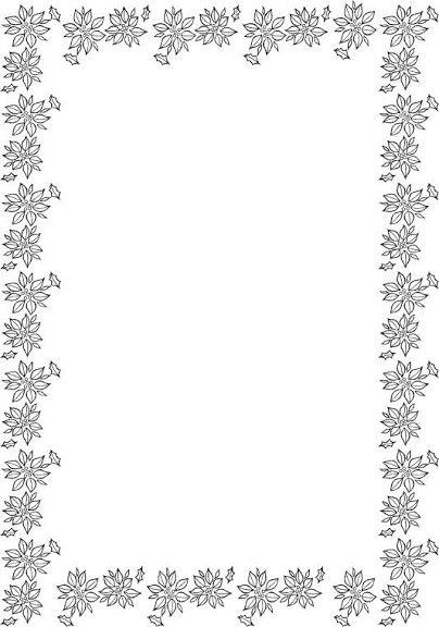Cornici Disegno Bianco E Nero.Bordes Pedagogicos Educandoyjugando Blog Picasa Albums