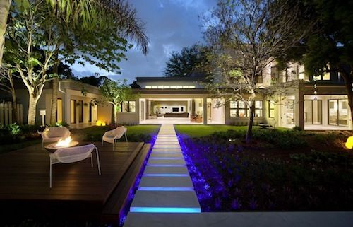 #DIY Glow In The Dark #Backyard Pathway