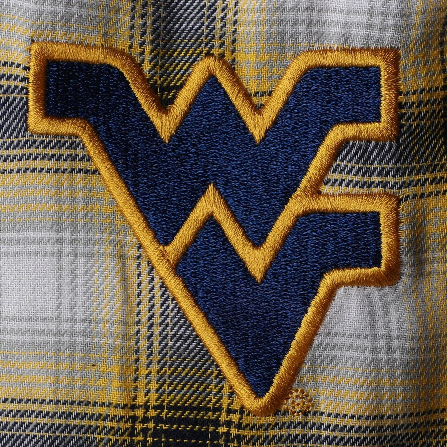 Women's Concepts Sport Navy/Gold West Virginia Mountaineers Plus Size Forge Flannel Pants #westvirginia