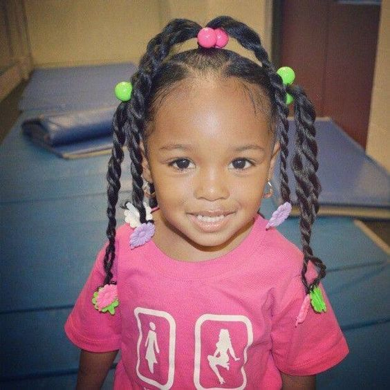 Little Black Girls Hairstyles Pinlorraine Murray On Ponytail  Pinterest  Cornrows Cornrows