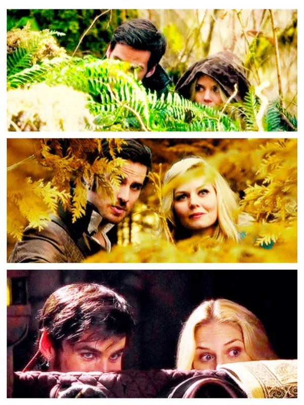 Peek-a-boo #CaptainSwan style — Once Upon A Time | Twitter