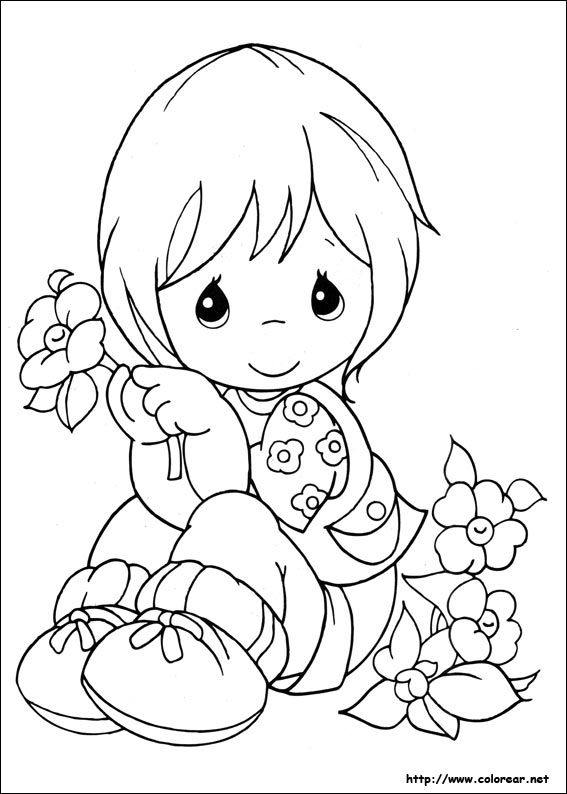 Precious Moments Summer Coloring Pages - Bing Images~ | ~Craft ...