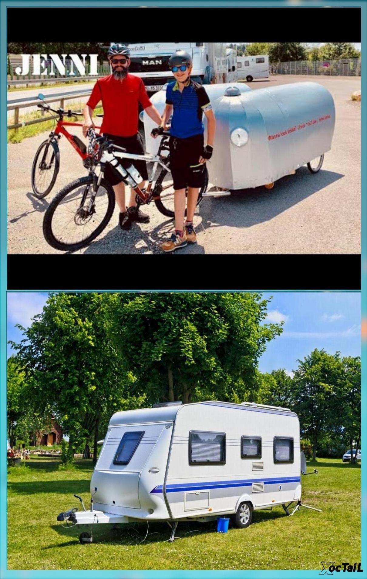 Bike Camper Part 3 Interior Bicycle Camper Caravan Camping