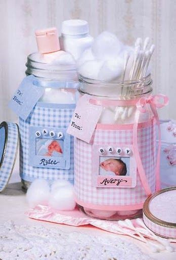 baby shower con frascos manualidades para baby shower baby ideas