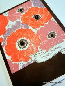 #UseItThursday – Poppies, of course! | MaryGunnFunn.com